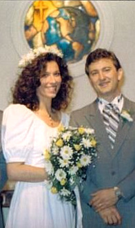 Viqui and Keith Dill September 27 1987